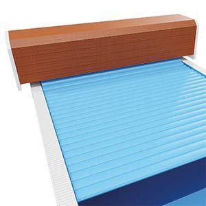 Oberflurrolladen Comfort Holz