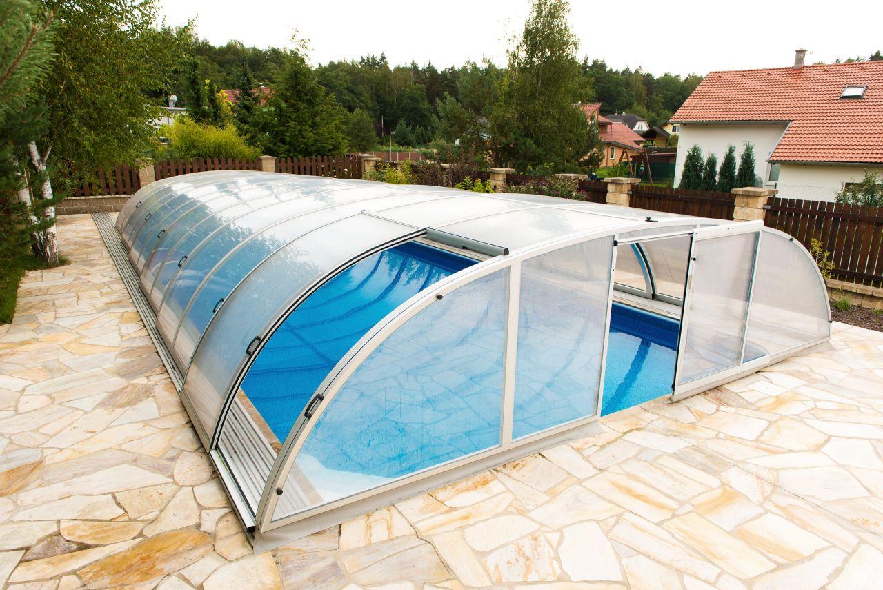 Schwimmbecken-Überdachung Dresden 430