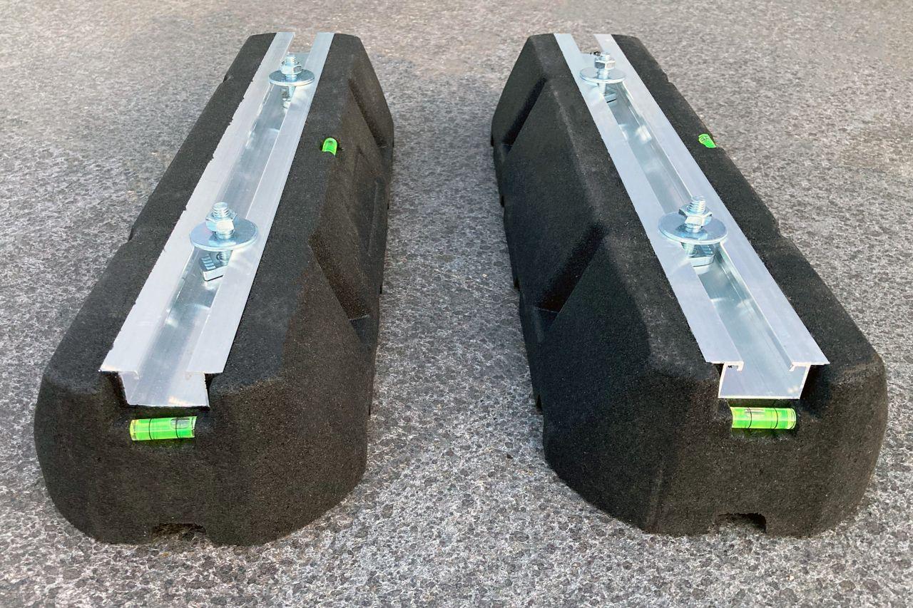 Silentblock Standfüße für alle Schwimmbad-Wärmepumpen