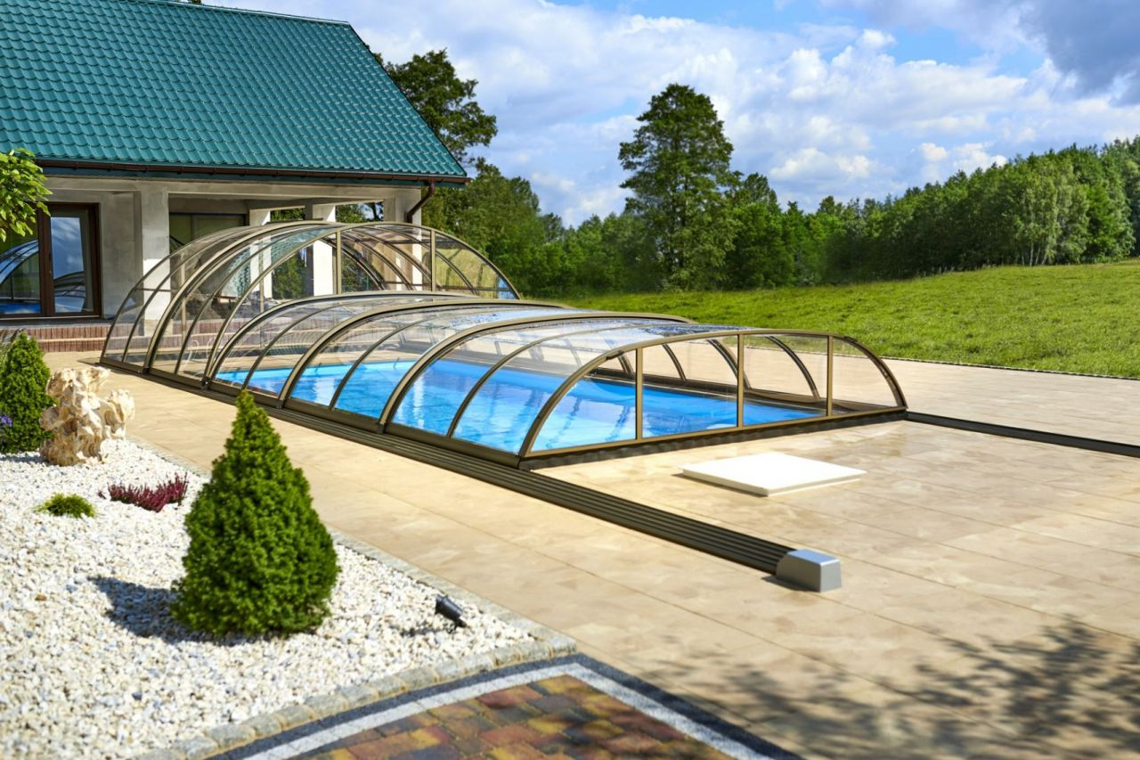 Prime Hybrid Plus Schwimmbadüberdachung A