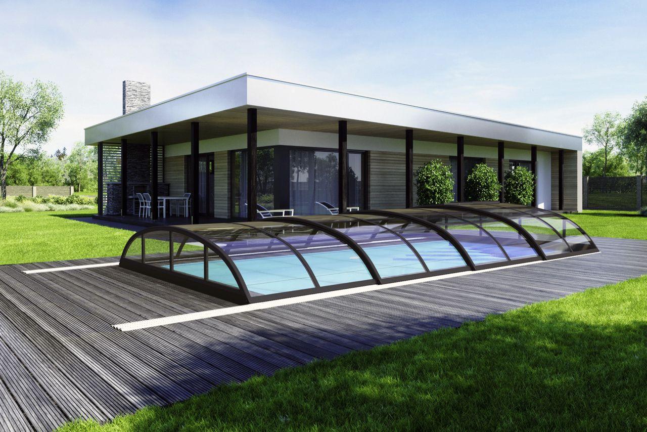 Albixon Schwimmbad Überdachung Klasik Pro B