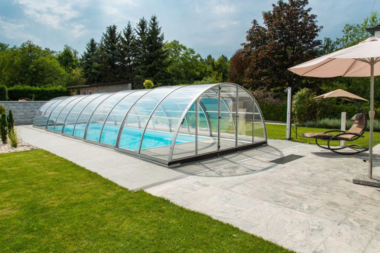 Prime Schwimmbad Überdachung Garden A