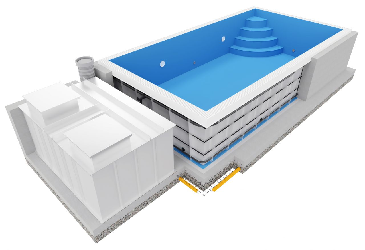 Prime PP-Pool 85 3,3x6 m Überlaufbecken