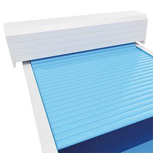 Oberflurrolladen Comfort PVC