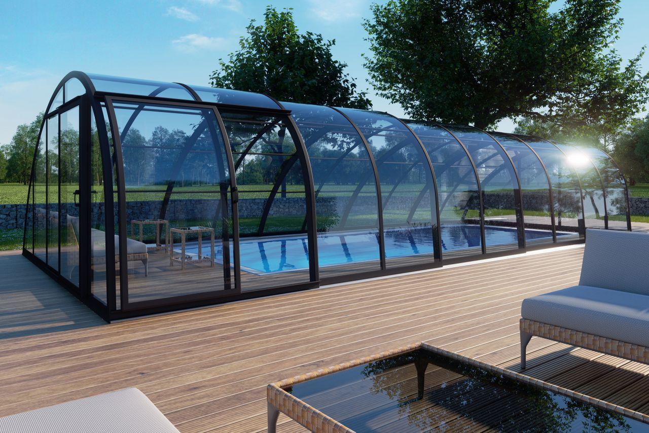 Albixon Monaco Future Schwimmbeckenüberdachung