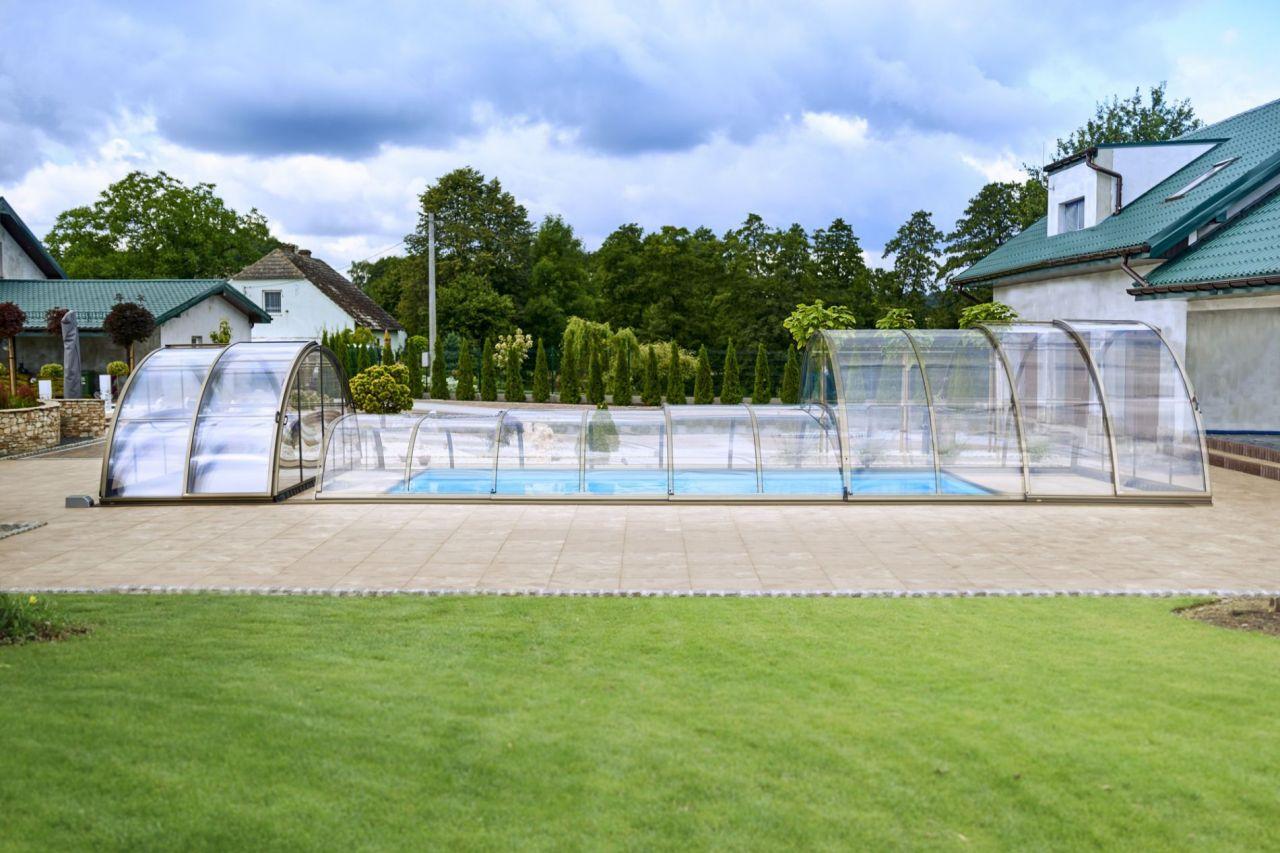 Prime Hybrid Poolüberdachung A Clear
