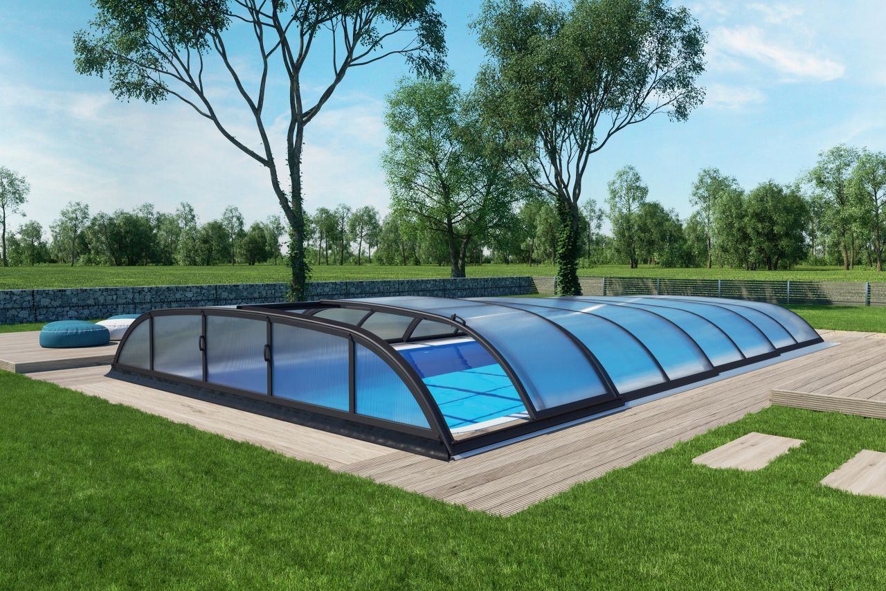 Schwimmbecken-Überdachung Dallas A