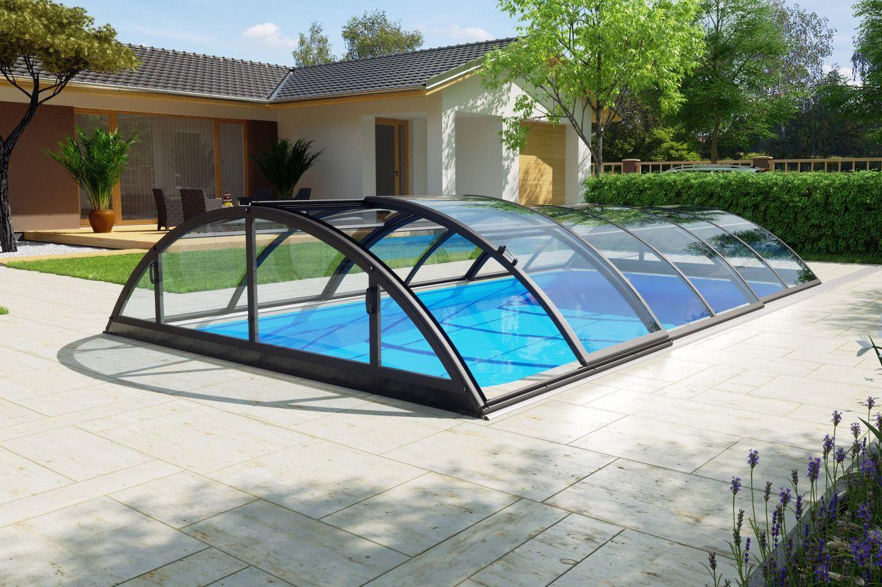 Pool-Überdachung Klasik Clear A