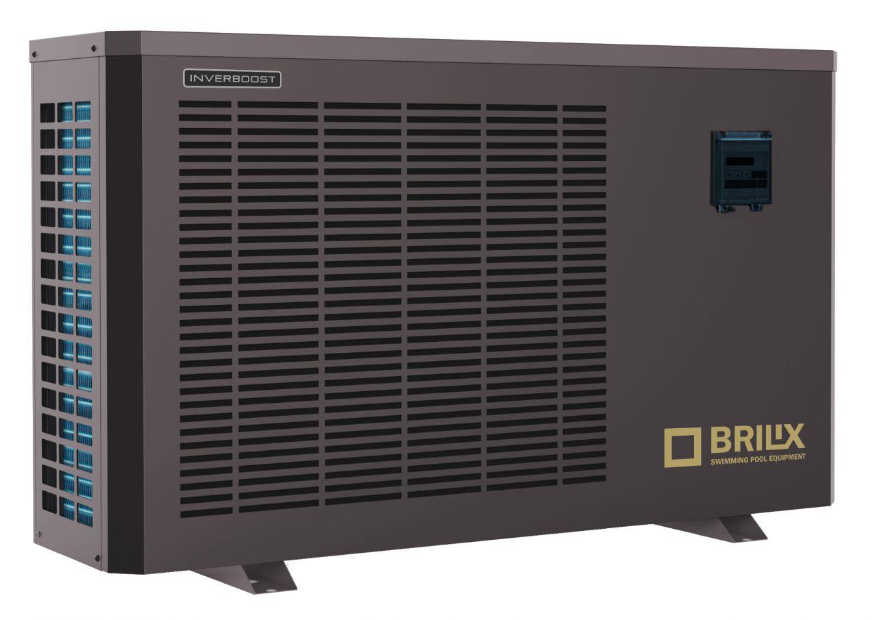 Brilix INVERBOOST Inverter Pool-Wärmepumpe